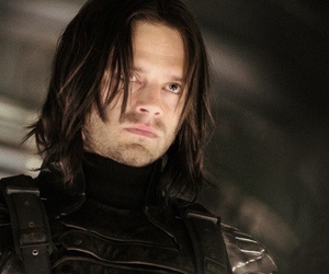 sebastian stan, bucky barnes, and winter soldier image
