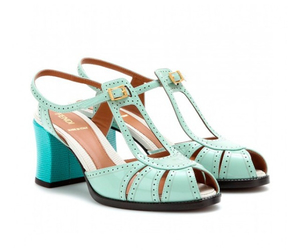 aqua, fendi, and zapatos image