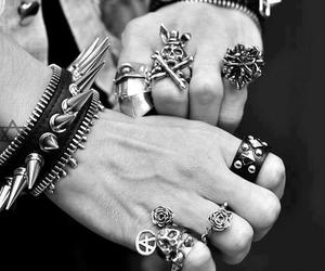 rings, rock, and punk image