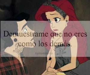 love, frases, and disney image