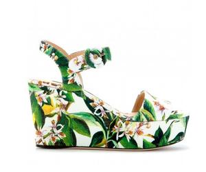 flores, dolce&gabbana, and verdes image