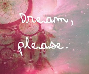 Dream, pink, and stars image