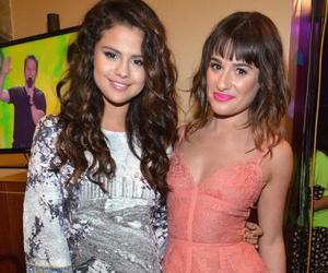 lea michele, other, and selena gomez image