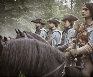 bbc, aramis, and the musketeers image
