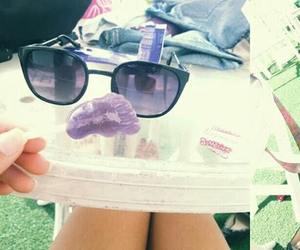 candy, feet, and sunny day image