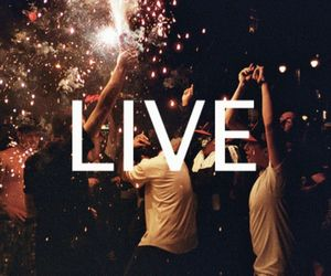 live, party, and laugh image