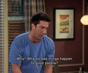 friends, quotes, and ross image
