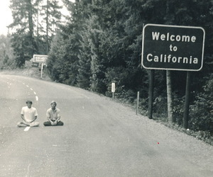 california, boy, and welcome image