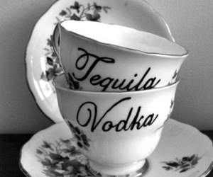 vodka, tequila, and cup image
