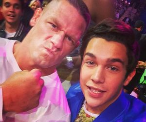 austin mahone and john cena image