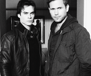 the vampire diaries, damon salvatore, and dalaric image