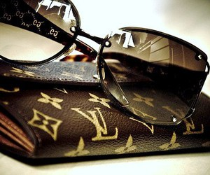 Louis Vuitton, sunglasses, and glasses image