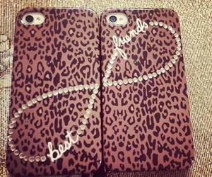 iphone, case, and leopard image