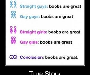 boobs, great, and true story image
