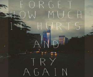 forget, quotes, and try again image