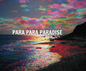 paradise, coldplay, and beach image