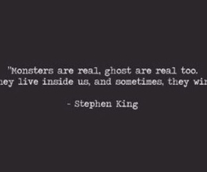 monsters, ghost, and quote image