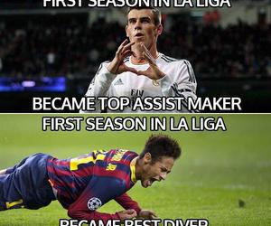 liga, neymar, and real madrid image