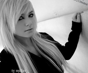 and, black, and blonde image