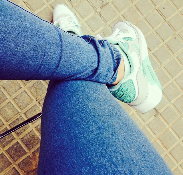 Calle Intensivo Implacable  Mint air max | via instagram on We Heart It