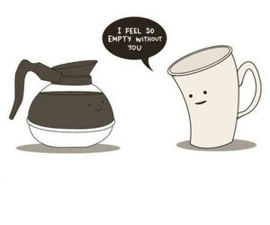 coffee, empty, and cup image