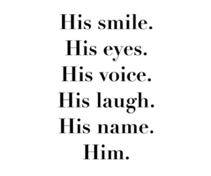 him, love, and laugh image