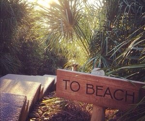 beach, summer, and beach baby image
