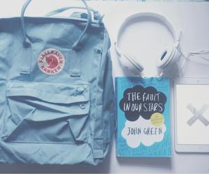 kanken, bag, and blue image