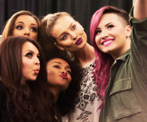 demi lovato and little mix image