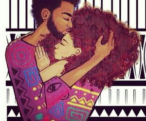 love, couple, and African image