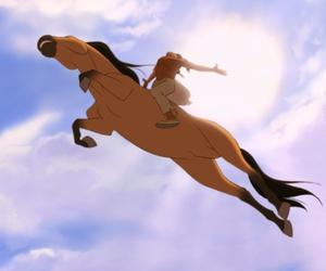 spirit, dreamworks, and horse image