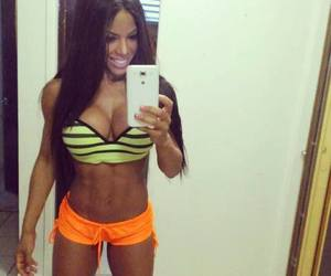 abs, gym, and sexy image
