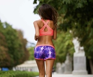 run, fitness, and girl image