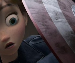 captain america, frozen, and movie image