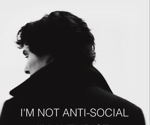 sherlock, idiot, and quotes image