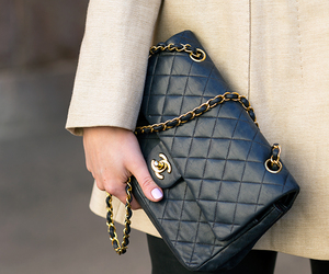 chanel, bag, and outfit image