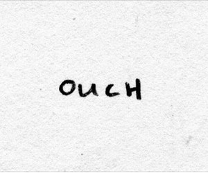 black and ouch image