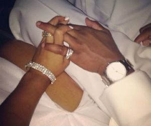 beauty, hand, and black couples image