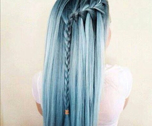 amazing, blue hair, and hair image