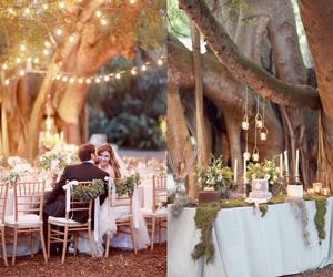 rustic, boho, and wedding image