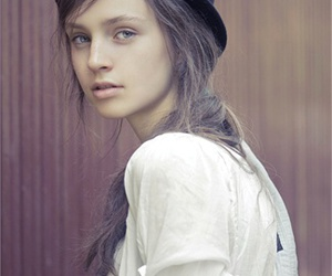 fashion, hat, and model image