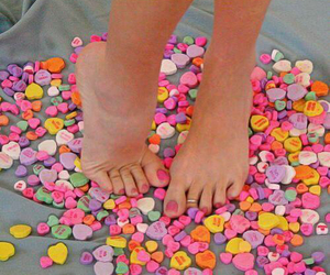 candy hearts image