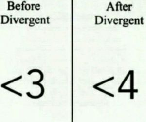 four, tobias, and divergent image