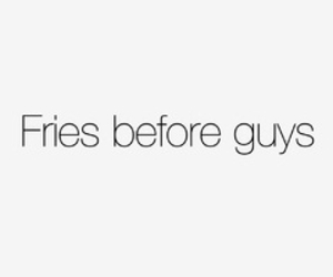 fries, food, and guy image
