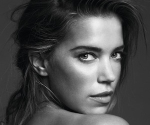 black and white, dutch, and sylvie van der vaart image