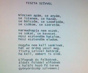 hungarian, poem, and vers image