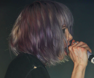 Alice Glass, Crystal Castles, and hair image