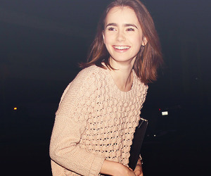 lily collins, lily, and the mortal instruments image
