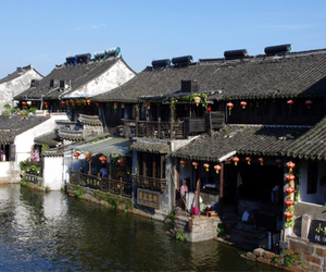chinese, water, and villages image