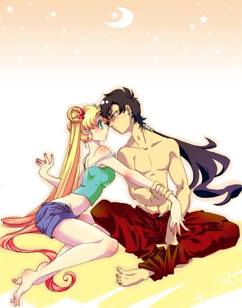 Sailor moon xxx serena y rei siendo violadas